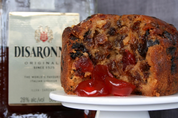 Amaretto Soaked Fruit Cake